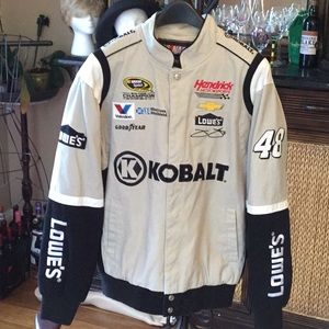 NASCAR Lowe's Jimmie Johnson Racing Jacket
